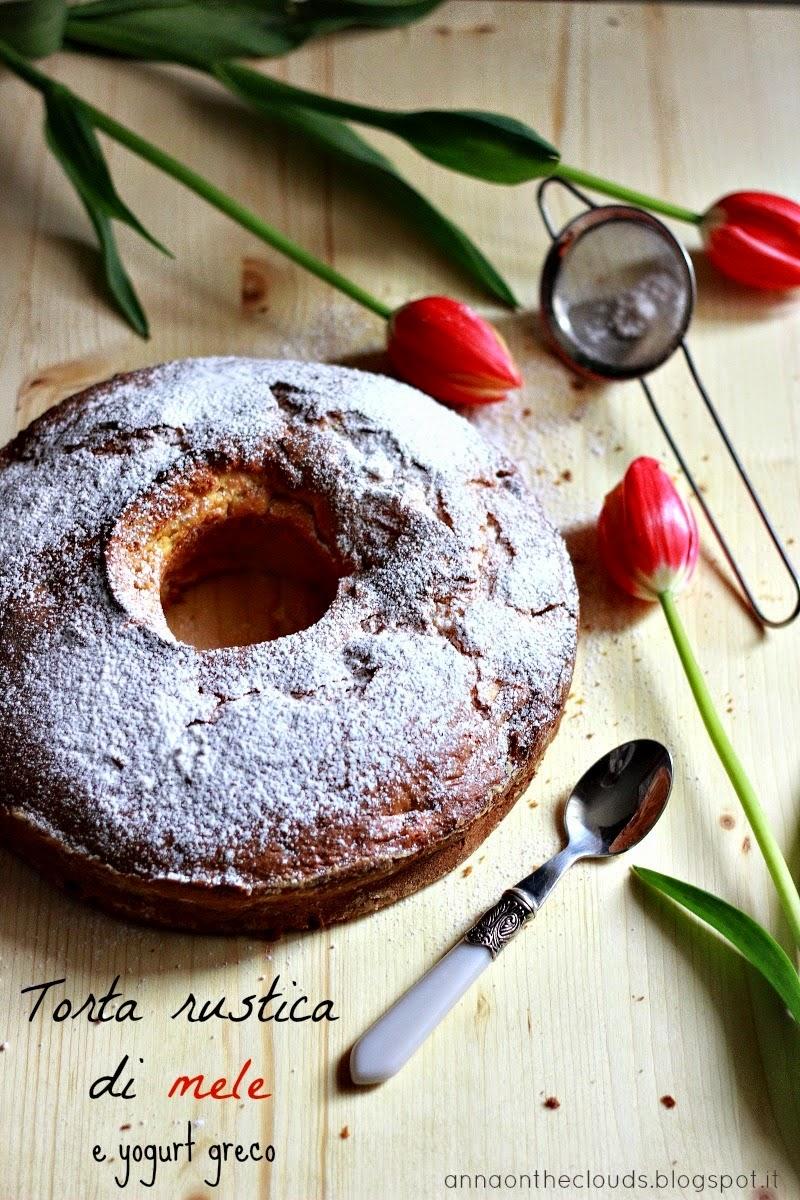 torta rustica di mele e yogurt greco