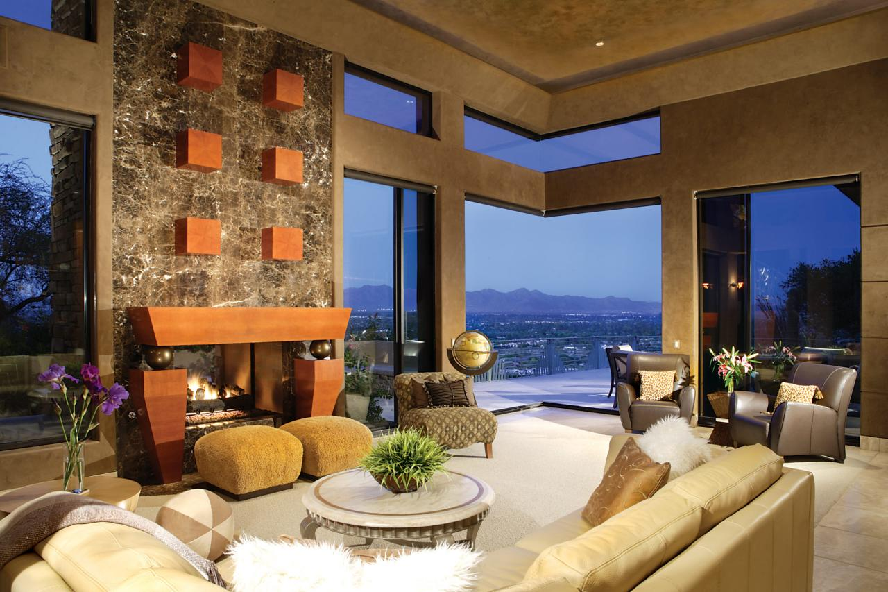 Mansions more mountaintop dream home in arizona - House in the mountains ...