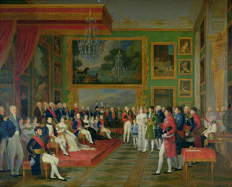 The Marriage of Eugene de Beauharnais and Princess Augusta by Francois Guillaume Menageot