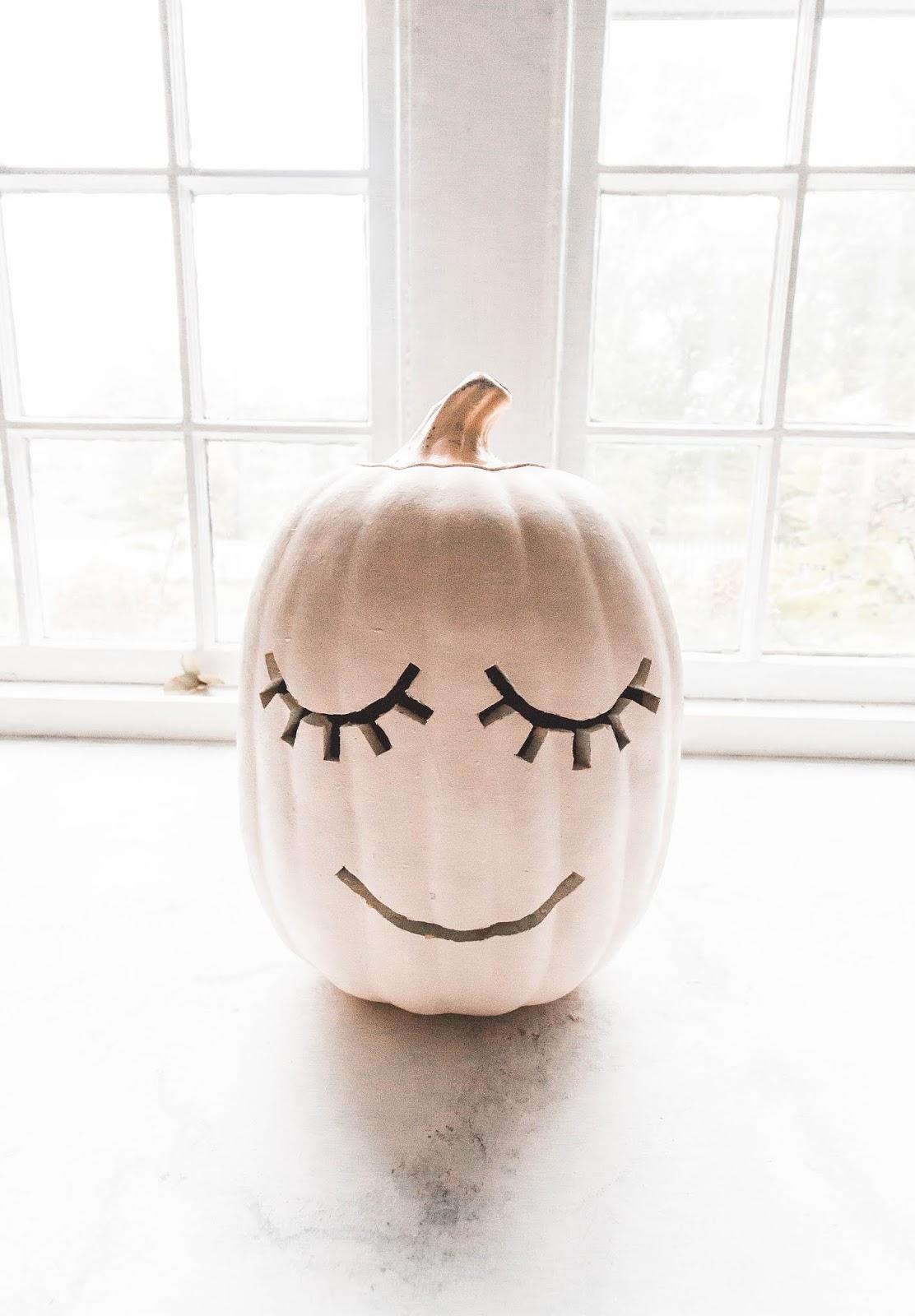 Diy Cute Eyelash Pumpkin 5 Free Pumpkin Carving Templates