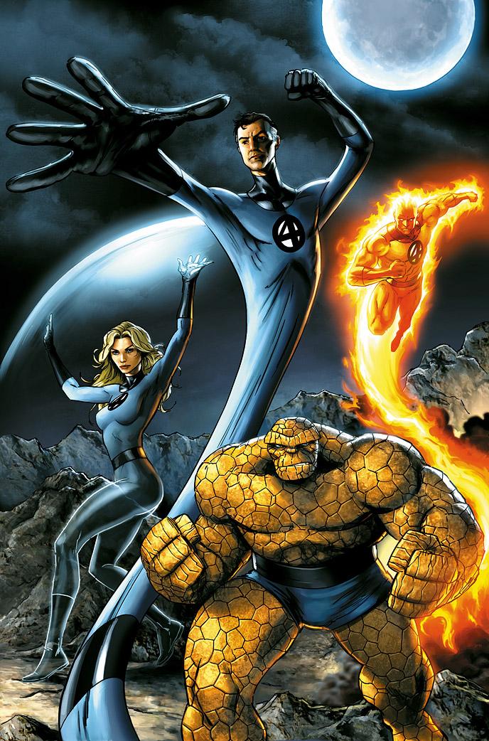 Music N' More: Fantastic Four Comics