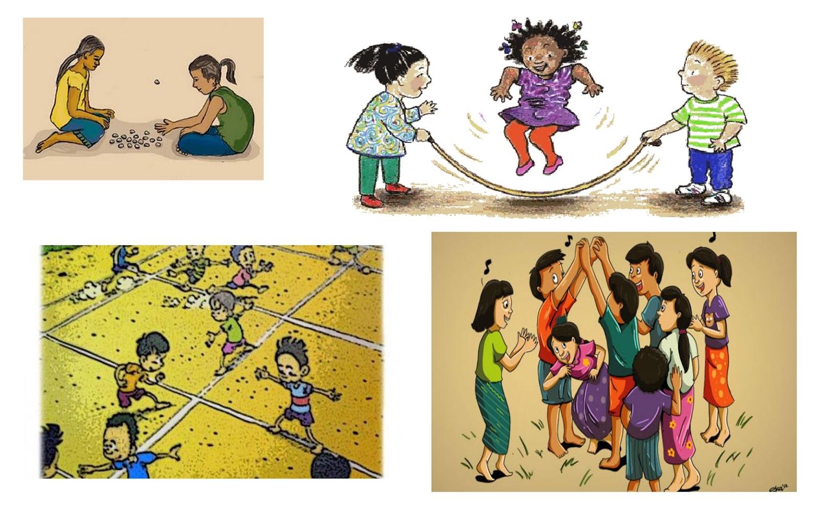 Gambar Kartun Anak-anak Bermain Related Keywords - Gambar ...