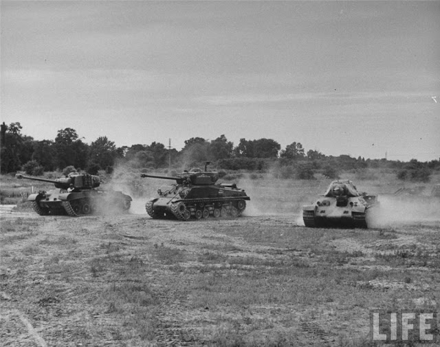 Sherman M4A2 Patton M4 Soviet T-34/76 worldwartwo.filminspector.com