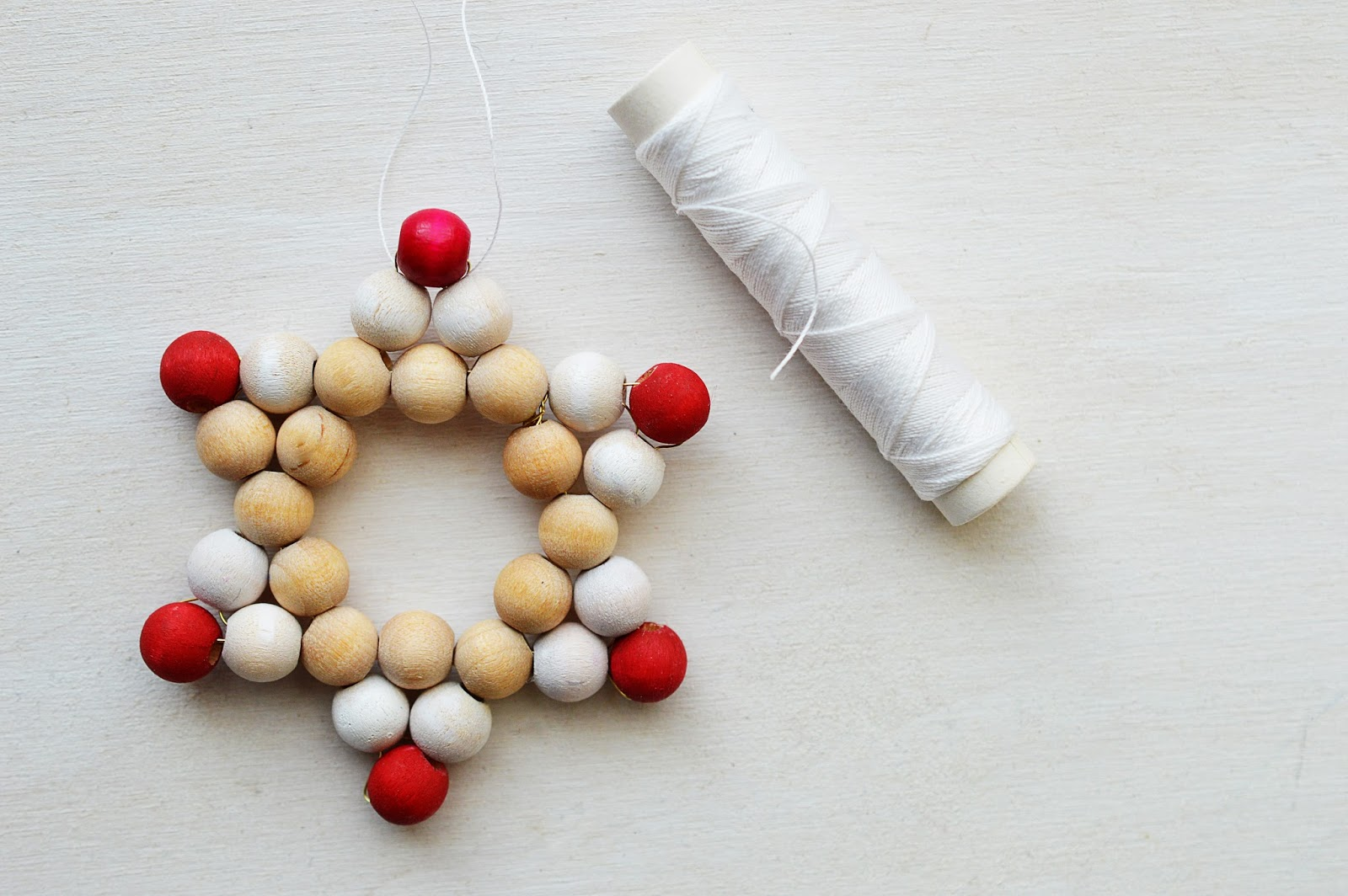 DIY Beaded Star Ornaments | Christmas | Motte's Blog