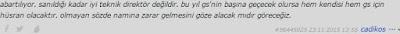 Mustafa Denizli hakkındaki görüşlerim, GS transferi öncesi