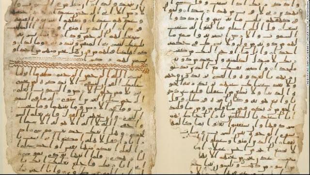 [Bukti Ilmiah] Al Qur'an Terjaga Keasliannya, Manuskrip Kuno 'University of Birmingham' Ungkapkan Hal Ini
