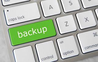 cara backup artikel postingan blog