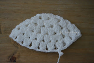 Crochet Cluster baby Hat free Pattern