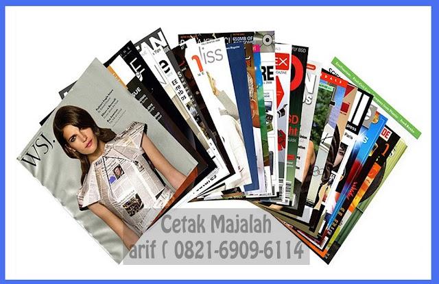 Jasa Cetak Majalah Murah Jakarta