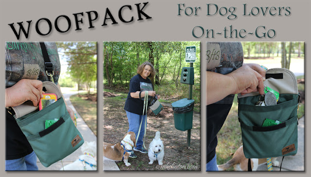 WoofPack dog accessory bag