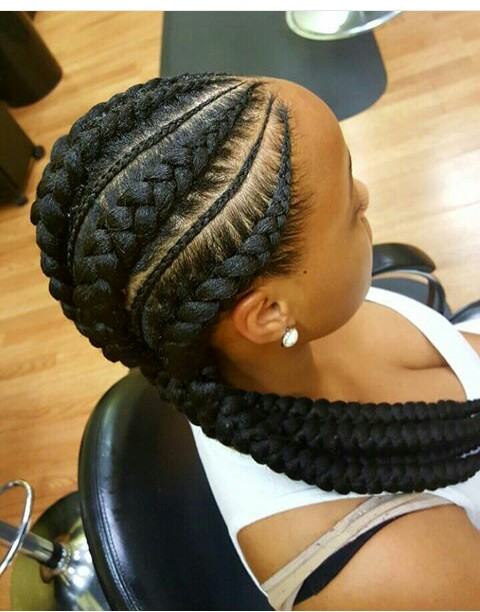Amazing Glam Life 10 Latest And Stunning Ghana Braids Style With Pictures Hairstyle Inspiration Daily Dogsangcom