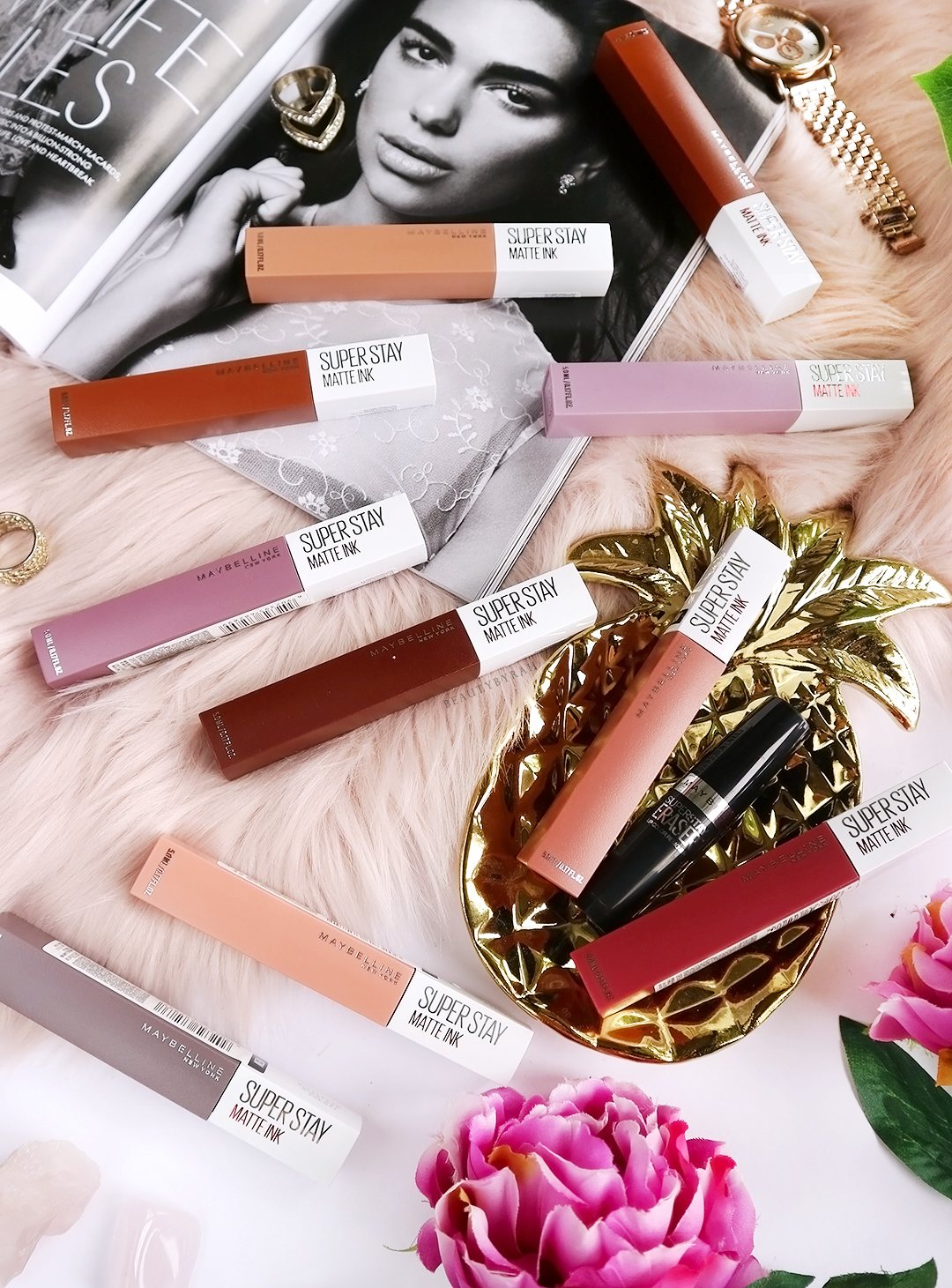Maybelline Superstay Matte Ink Unnudes Collection Review and Swatches