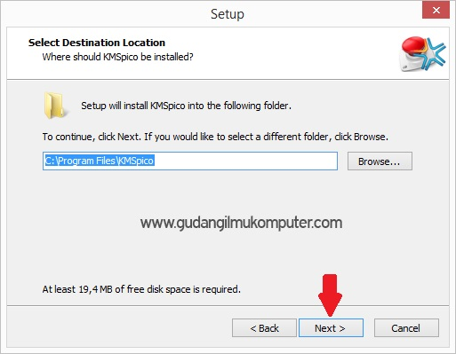 cara aktivasi windows 8 dengan kmspico