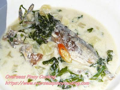 Ginataang Galungong with Pechay Recipe