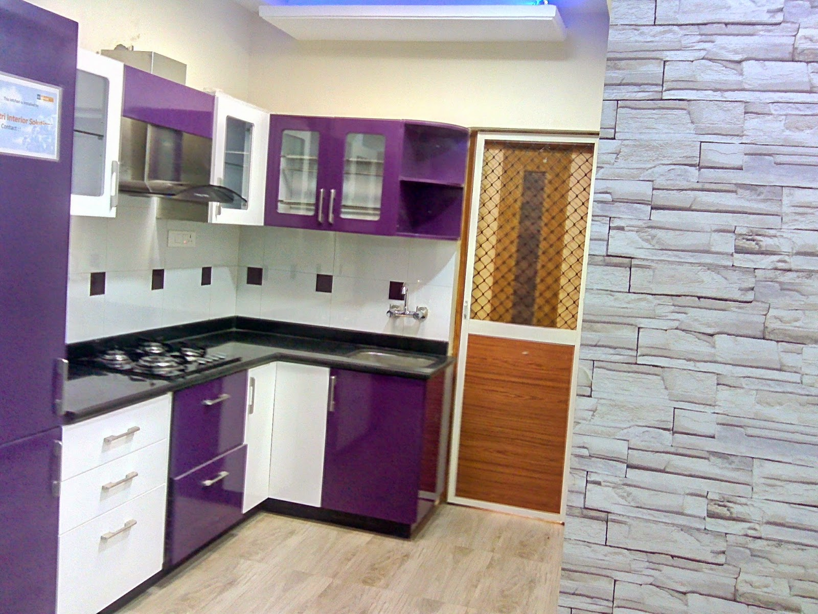 Learn New Things: Modular Kitchen Design Simple And Beautiful
