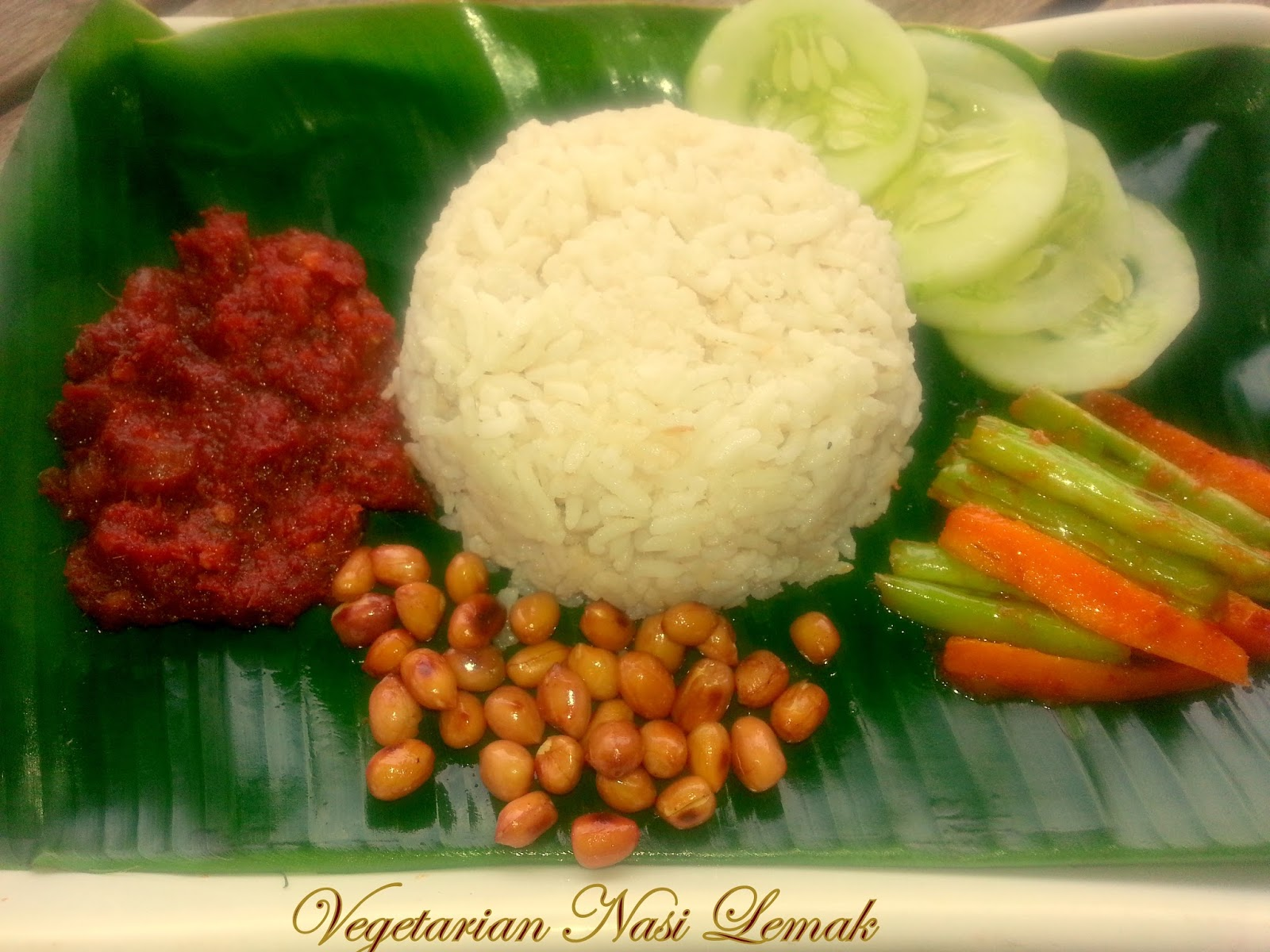 Annapurna vegetarian nasi lemak recipe malaysian cuisine for Annapurna cuisine