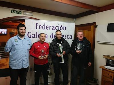 premios - SurfCasting: Campeonato provincial MAR COSTA absoluto - 2019