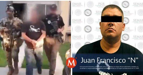"Capturan a 'Juan pistolas', jefe de sicarios del CJNG ""Alacrán"" del Cártel"