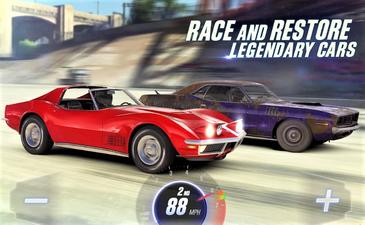 Game balap yang satu ini memberikan balapan drag tampak nyata saat di mainkan, Game ini menampilkan supercar paling indah dan otentik hingga saat ini, seret balapan melawan pemain handal dari seluruh dunia ambil alih semua kota