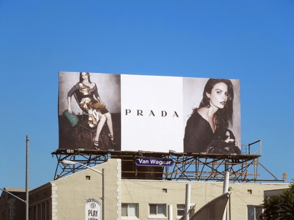Prada FW 2013 fashion billboard