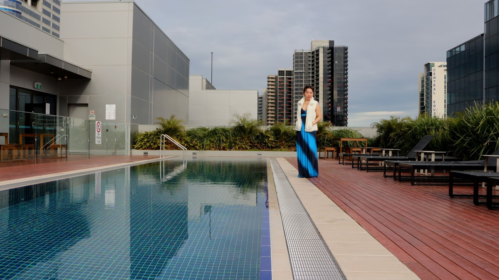 Wyndham Melbourne Rooftop pool