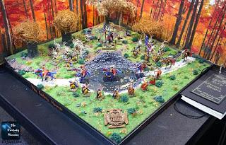 Armies on Parade 2015 Wood Elves bronze