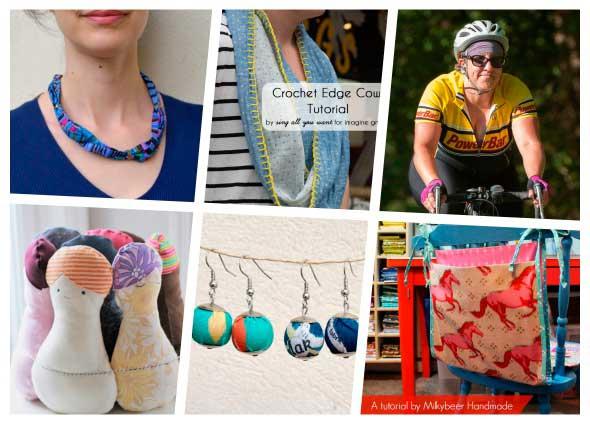 Labores de costura en tela curiosas y divertidas