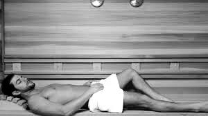 cuentos erección en la sauna