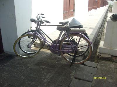Sepeda Onthel di meseum Bahari