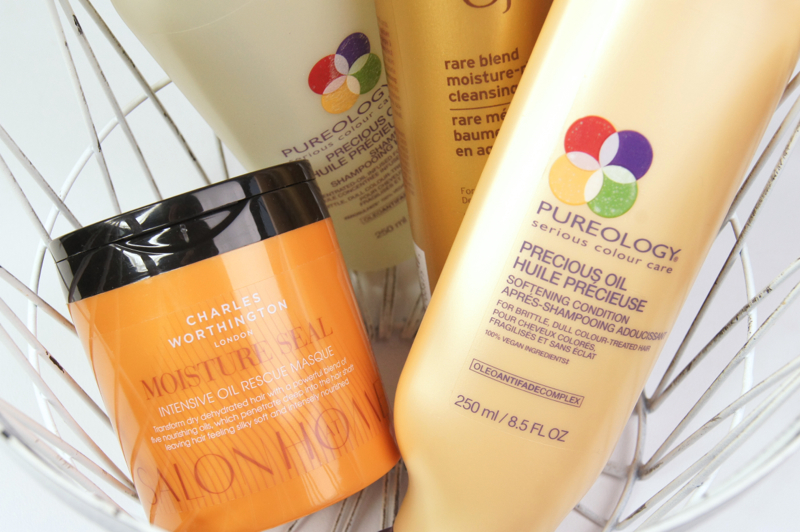 best shampoo conditioner co-wash intensive hair mask for dry damaged unruly hair pureology ojon charles worthington