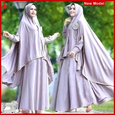 FHGS9099 Model Syari Zulfa Abu, Perempuan Pakaian Muslim Jersey BMG