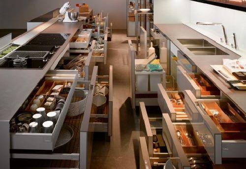 Susun Setiap Kelengkapan Barang Dapur Berhampiran Anda Bagi Memudahkan Mencapainya Bila Perlu