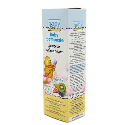 Kem đánh răng Nga hiệu Babyline dành cho bé từ 2-6 tuổi