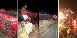 Acidente com caminhão, em Mucugê