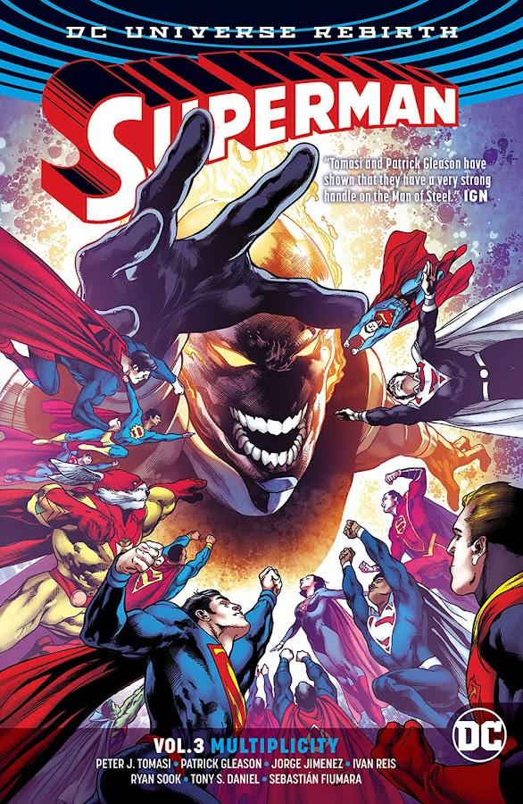 superman multiplicity dc comics