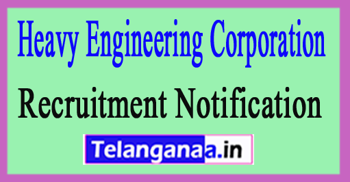 HECL Heavy Engineering Corporation Limited Recruitment Notification 2017