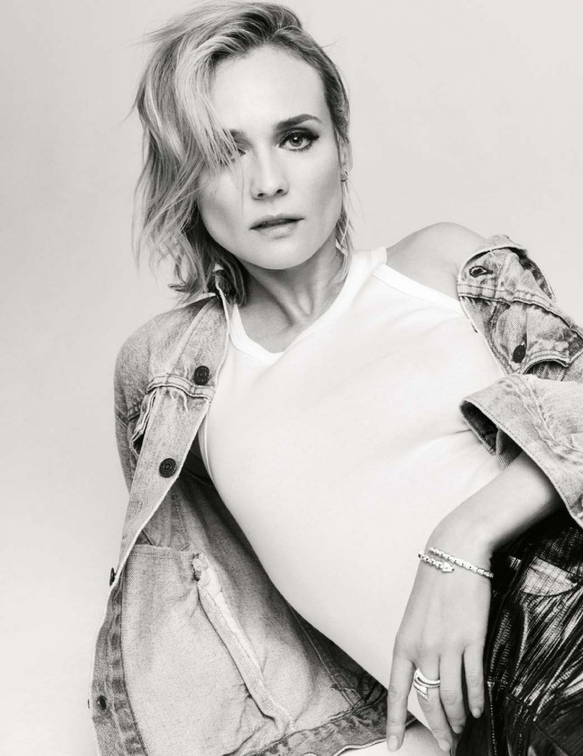Diane Kruger In Elle Magazine January 2018 issue