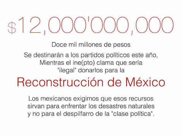 900 mil Mexicanos se unen y exigen al INE done los casi 7 mil millones de pesos que serán destinados a campañas electorales