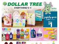 Dollar Tree Weekly Circular March 31 - April 6, 2019