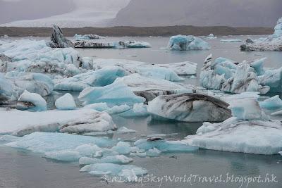 冰島, Iceland, 冰川湖 Jökulsárlón Glacier Lagoon