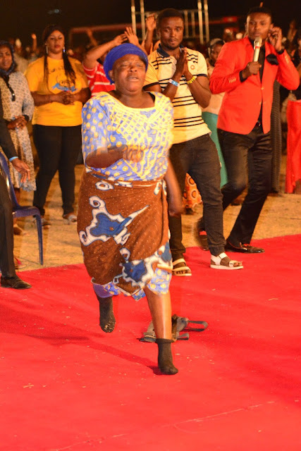 #BattleGroundJos: Old Woman runs in excitement after years of being crippled
