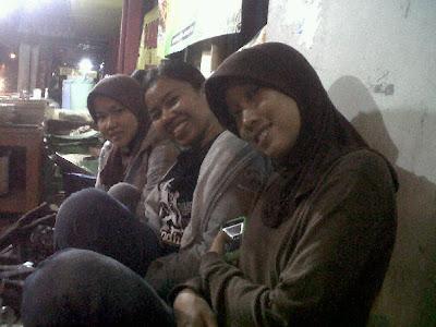 Menikmati gudeg tengah malam di Yogyakarta