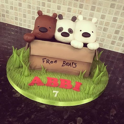 Pasteles De Escandalosos Cake We Bare Bears