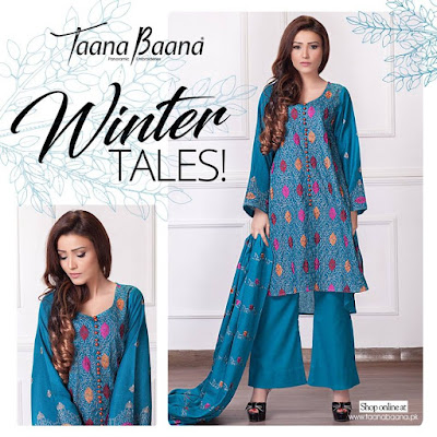 taana-baana-winter-classic-embroidered-dresses-designs-2017-for-girls-4