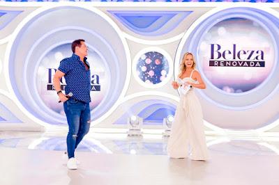 Beto Barbosa e Eliana - Foto: Gabriel Cardoso/SBT