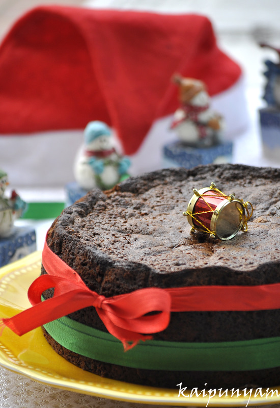 Kaipunyam Com Old Fashioned Fruit Cake