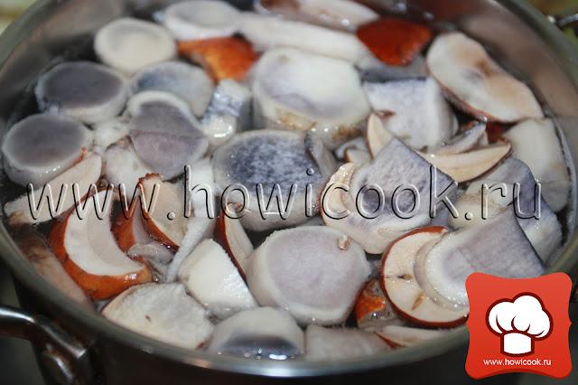 рецепт вкусного супа с белыми грибами