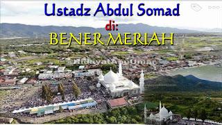 Tabligh Akbar Ustadz Abdul Somad di Tanah Gayo Bener Meriah