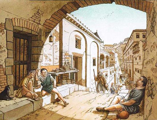 L 39 abitazione romana for Piani di casa di 1600 piedi quadrati