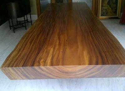 Kayu Papan Trembesi untuk Meja